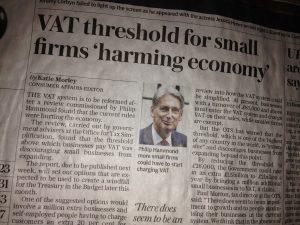 Telegraph VAT