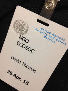 UN pass David Thomas
