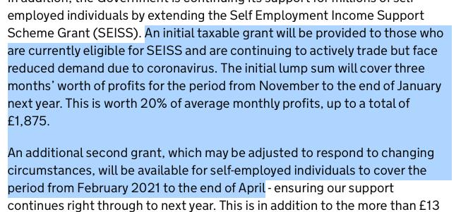Excerpt from gov.uk