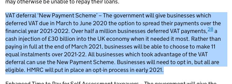 excerpt from gov.uk - VAT