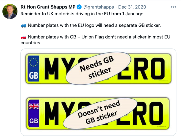 Grant Shapps tweet